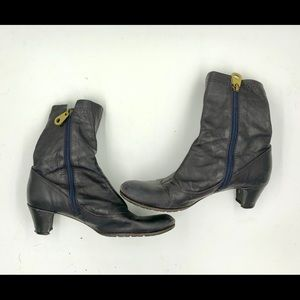 Marc Jacobs Ankle Boots (navy blue)
